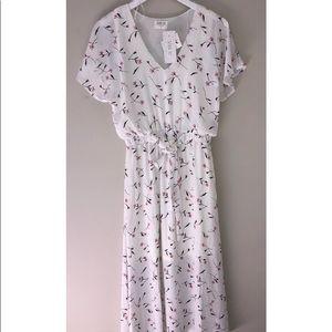 2/$15🌴 Sienna Sky midi summer dress medium